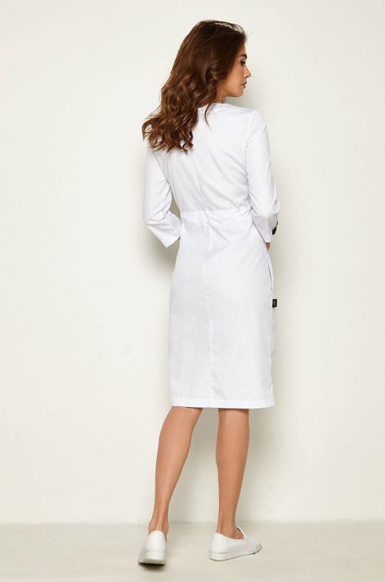 Халат медицинский женский Р-106 (белый, смесовая)