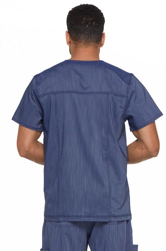 Топ медицинский мужской DICKIES DK 695 (т.синий NAVT, стрейч)
