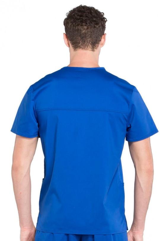 Топ медицинский мужской CHEROKEE WW 670 (синий GAB, стрейч)