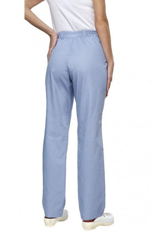 Брюки медицинские женские LL 3103 (голубой, тередо)