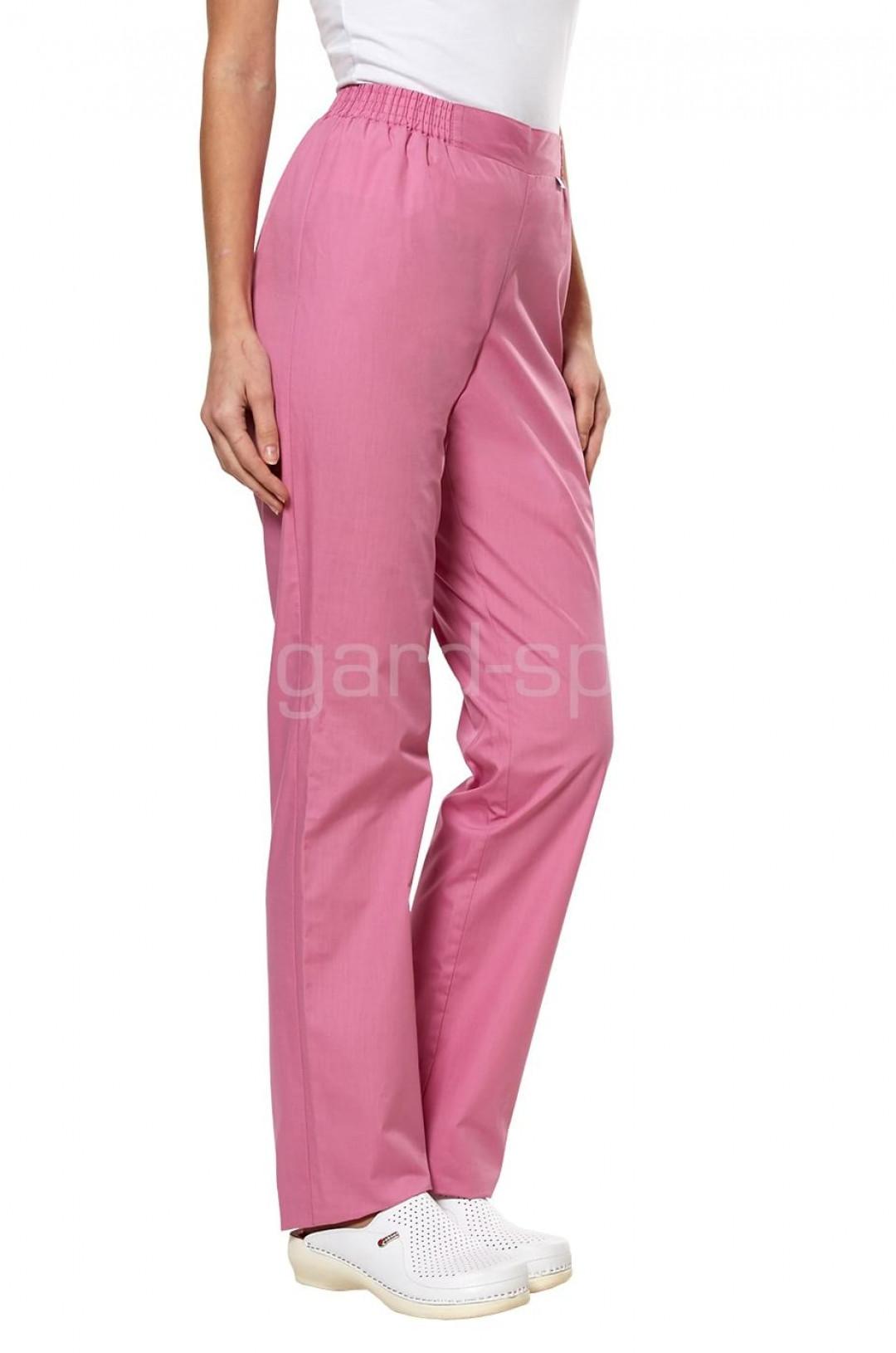 Брюки медицинские женские LL 3108 (розовый, тиси)