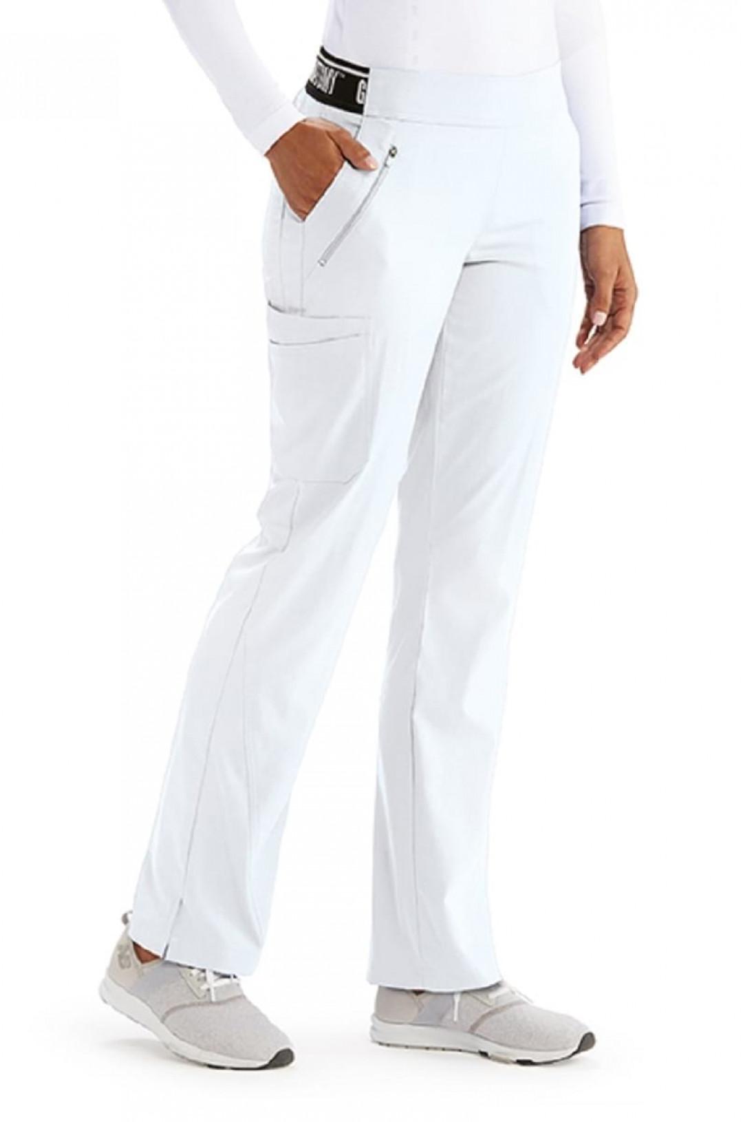 Брюки медицинские женские BARCO GVSP515 (белый 10, стрейч)