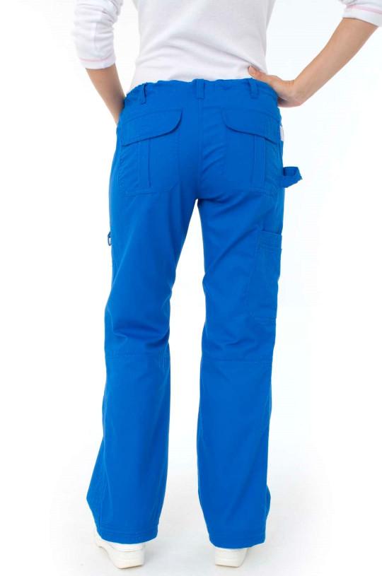 Брюки медицинские женские KOI 701R (голубой 20, стрейч)