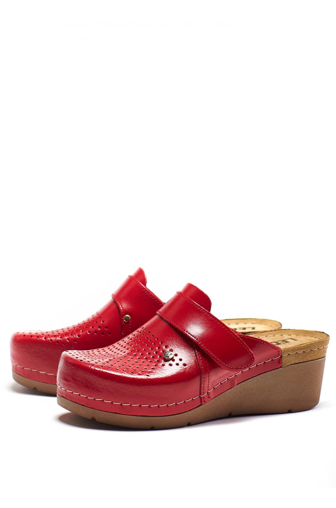 Сабо медицинские женские 1001 (красный)