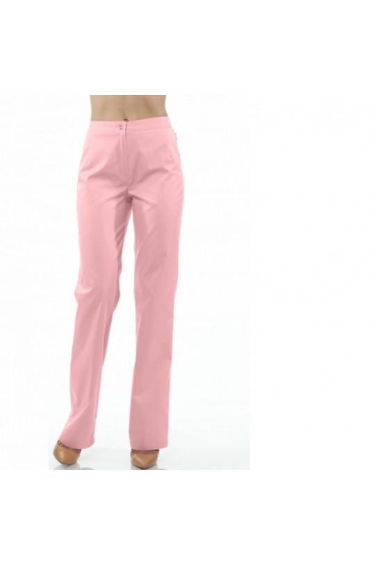 Брюки медицинские женские 276 (розовый 20, тиси)