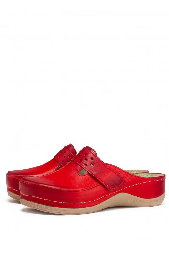Сабо медицинские женские 902 (красный)