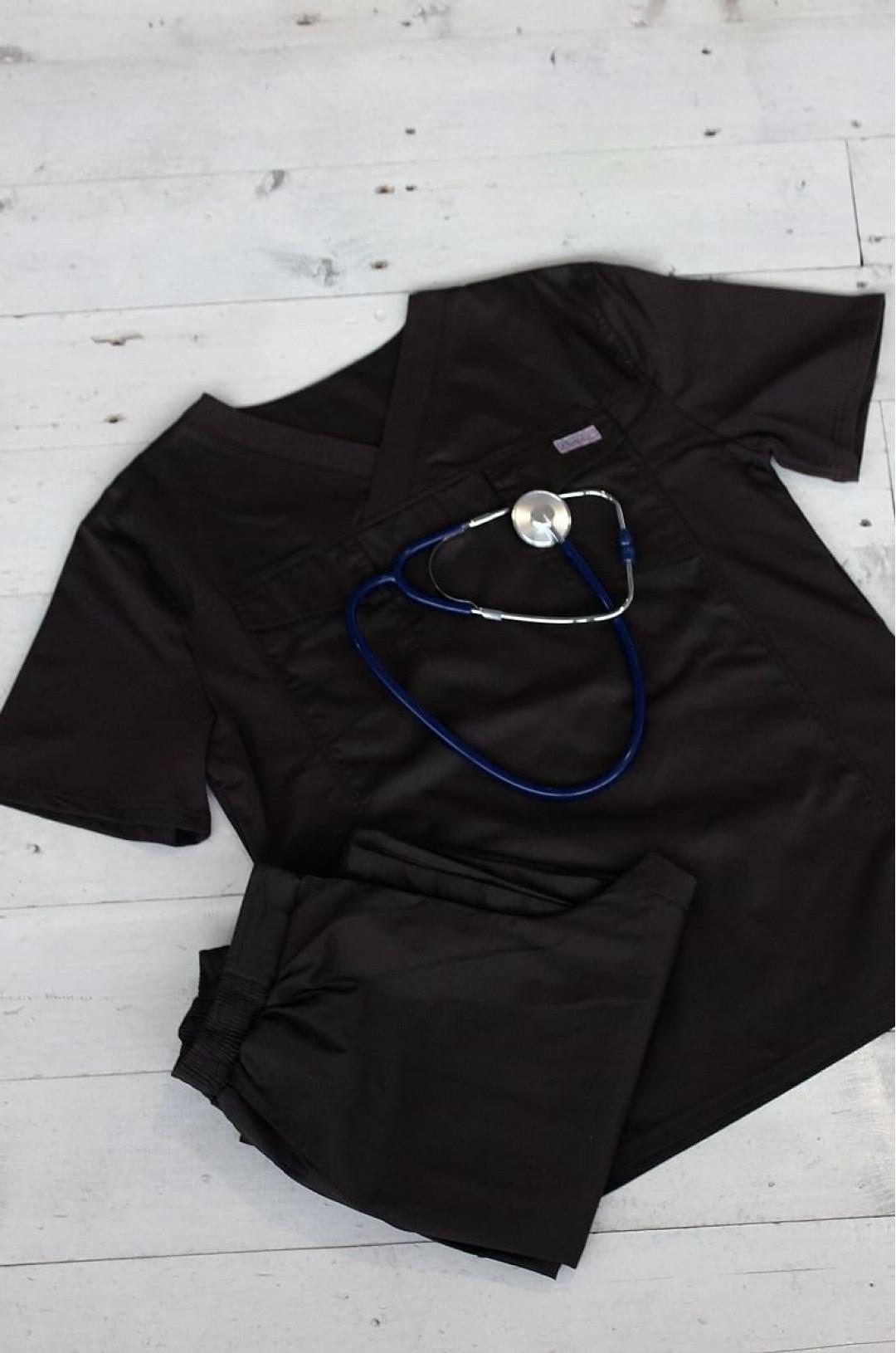 Костюм медицинский мужской 139.0 (коричневый, сансара)