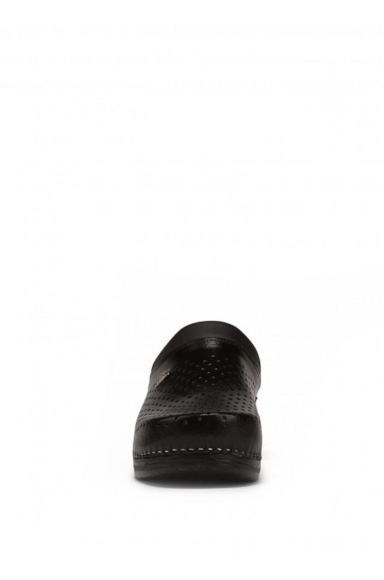 Сабо медицинские мужские Pu 100M (черный)