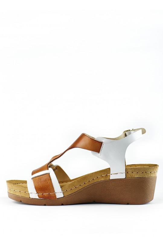 Сандали-сабо медицинские женские 1010 (коричневый)