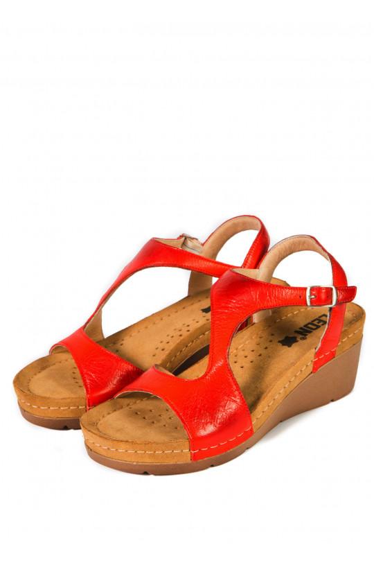 Сандали-сабо медицинские женские 1050 (красный)