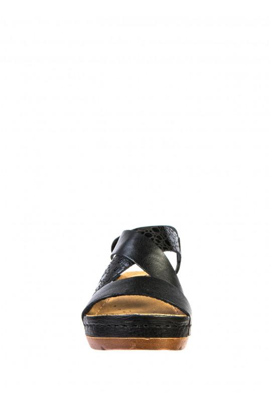 Сандали-сабо медицинские женские 1006 (черный)