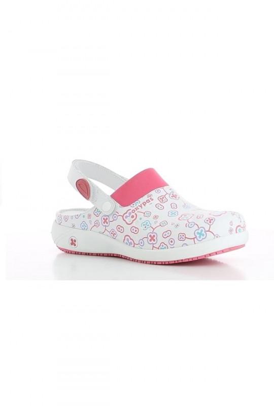 Обувь медицинская женская Doria (принт фуксия)