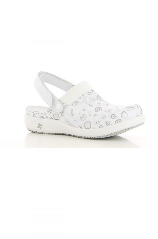 Обувь медицинская женская Doria (принт серый)